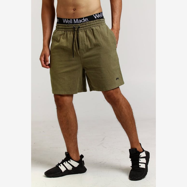 Stussy Authentic Short Khaki