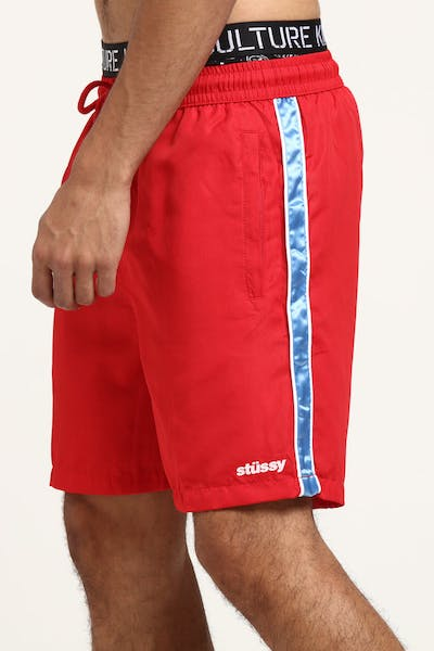 Stussy Cahill Beachshort Red