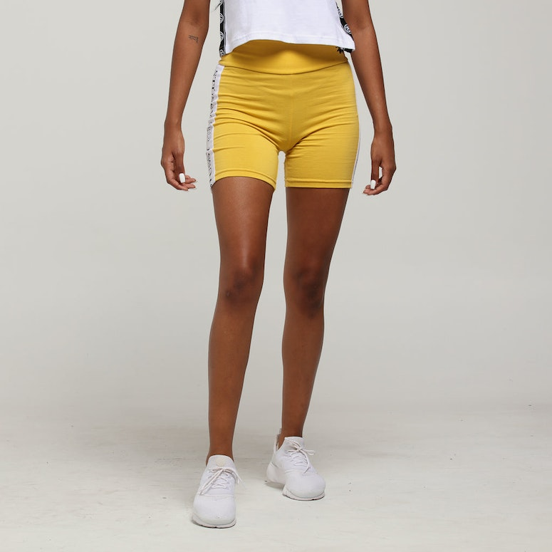 Stussy Women's Vita Bike Short Vintage Yellow