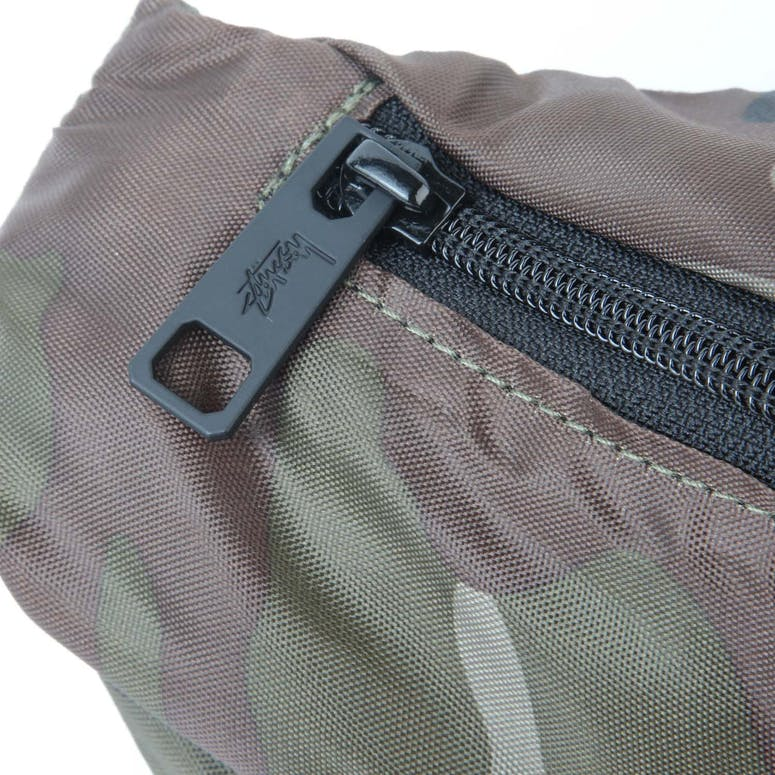 Stussy Bars Waist Bag Military