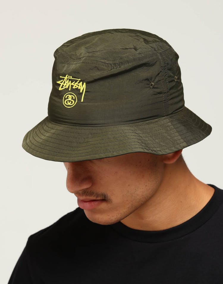 75f9c71516eef Stussy Crushable Stock Bucket Hat Green – Culture Kings