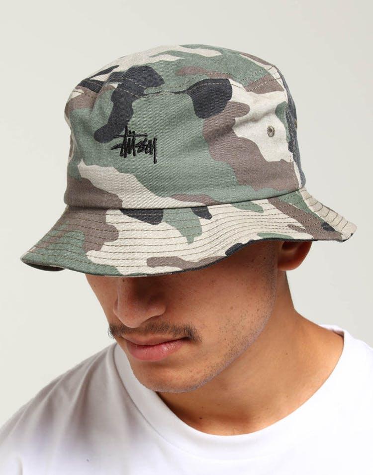 2dadc2a62 Stussy Graffiti Bucket Hat Camo