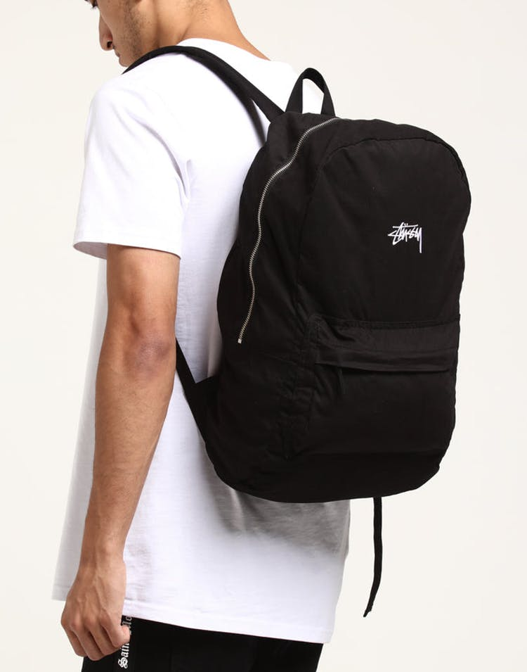 Stussy Stock Beachpack Black