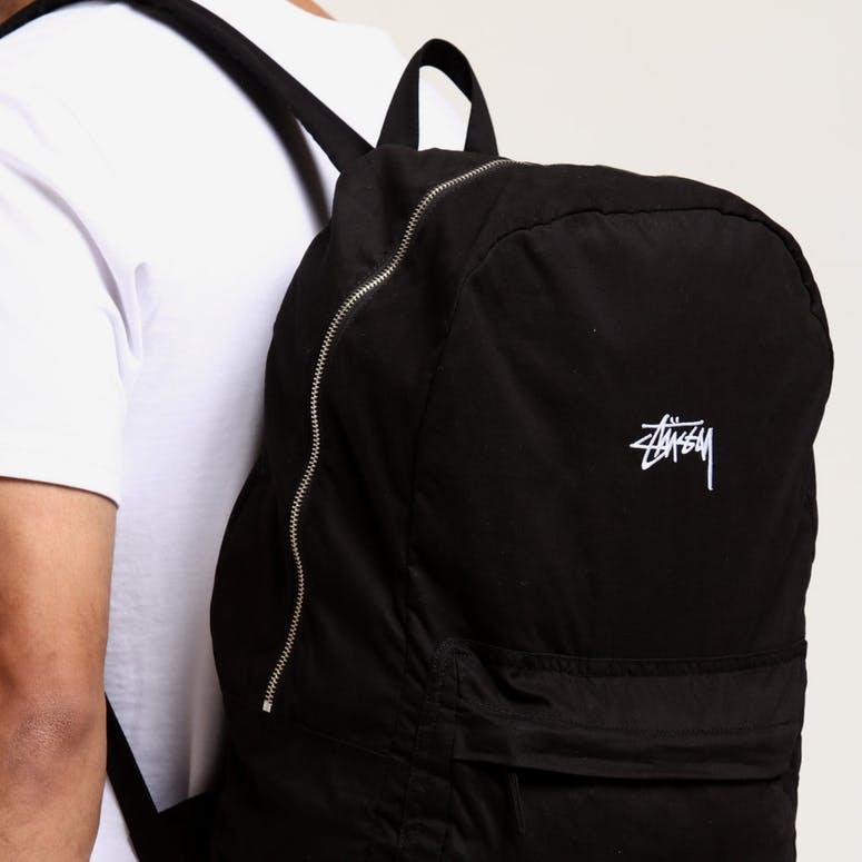 d40552617e Stussy Stock Beachpack Black – Culture Kings