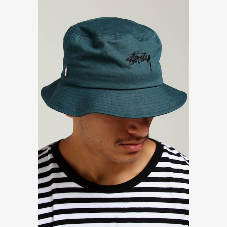 Stussy Stock Bucket Hat Teal – Culture Kings 11c756a00ef9