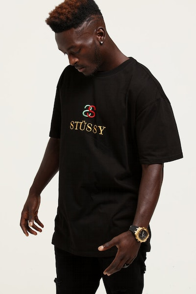 Stussy Made Link SS Tee Black
