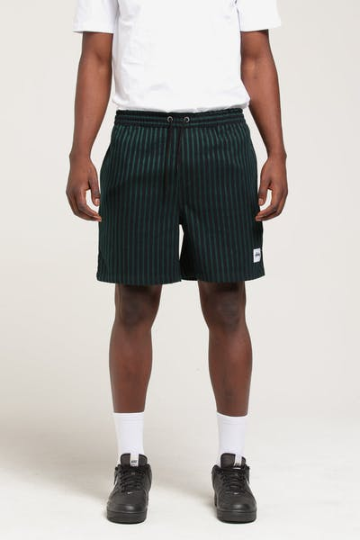 Stussy Stan Stripe Short Bottle Green/Black