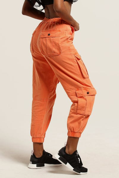 Stussy Women's Lenox Cargo Pant Orange