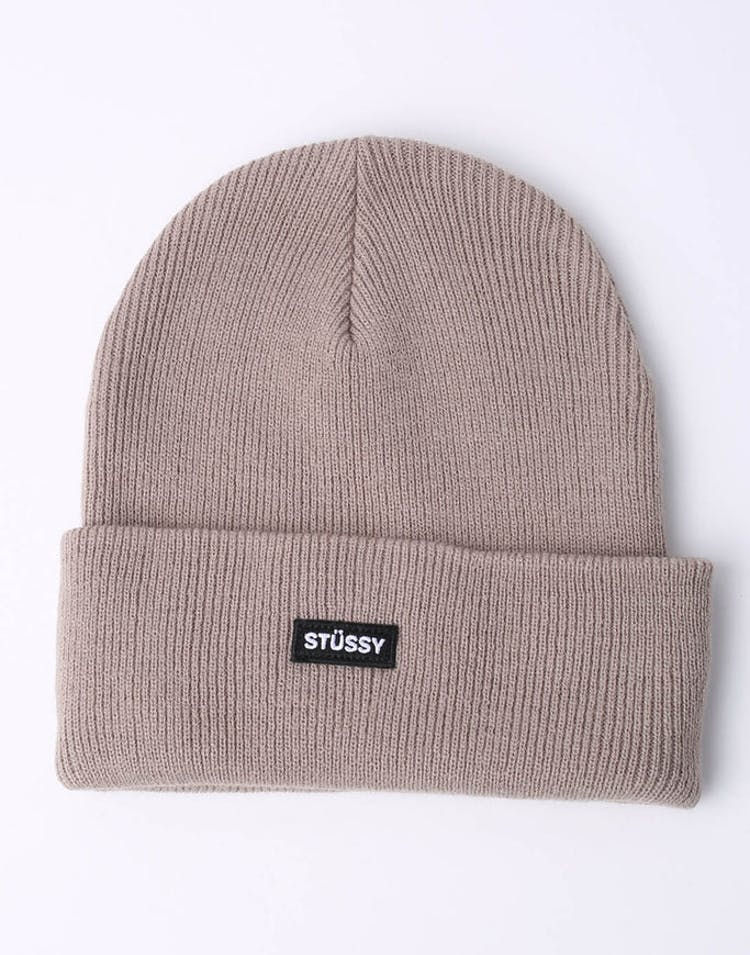 1cc385b8da1 Stussy Badge Cuff Beanie Atmosphere Grey – Culture Kings