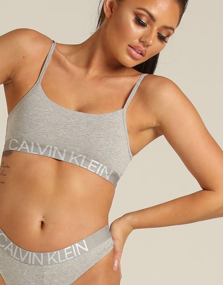 2bf0777b88 Calvin Klein Women s 1981 Reversible Bralette Grey Heather – Culture Kings