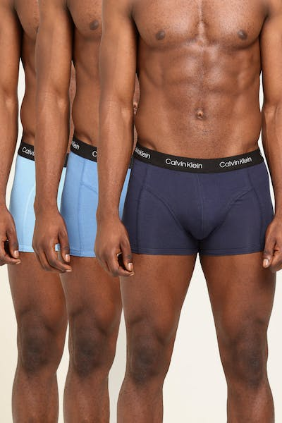 Calvin Klein CJ Trunk 3Pack Black/Stripe/Blue