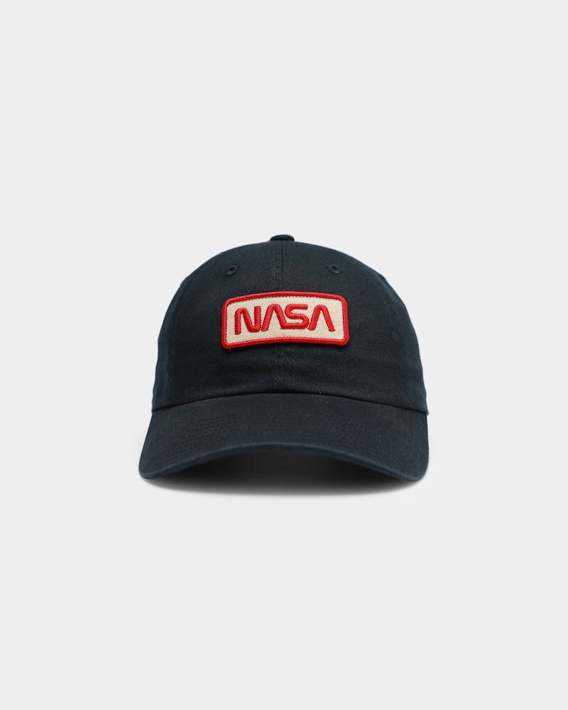 American Needle Men's NASA Patch Ball Park Strapback Navy
