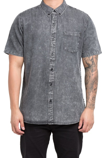 Silent Theory Worker SS Shirt Grey