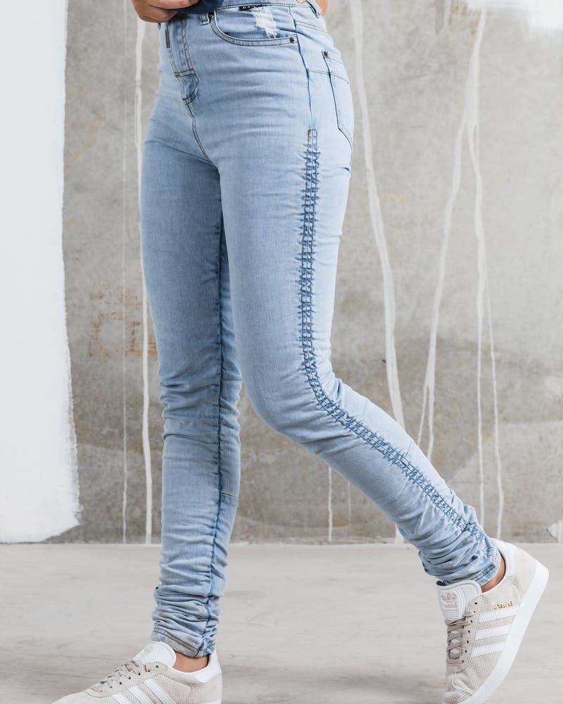 Dead Studios Skinny High Rouge Women's Jean Bleach