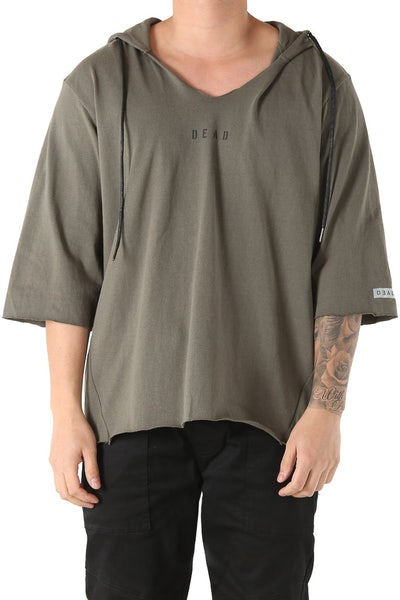 Dead Studios Raw Pullover Olive