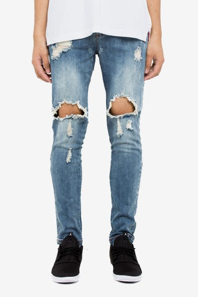 Dead Studios Gravel Jean Bleach Wash