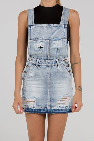 Dead Studios Bleach Women's Overalls Bleach Wash