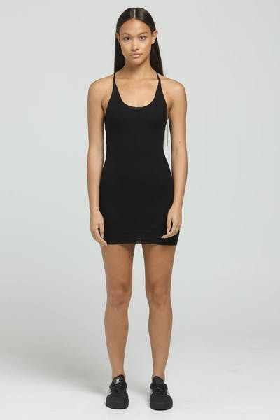 Dead Studios Women's Knit Short Dress Black
