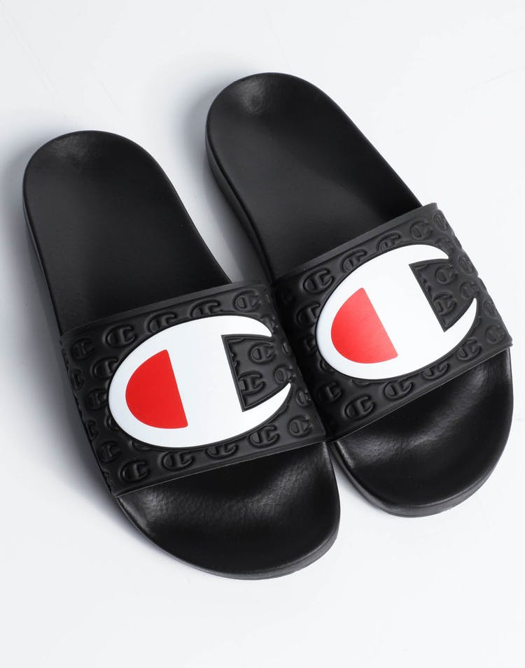 Champion Multi-Lido Slide Black