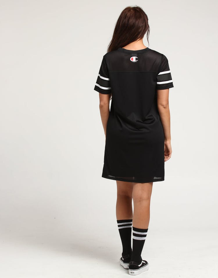Champion Women's Jersey Dress Script Black