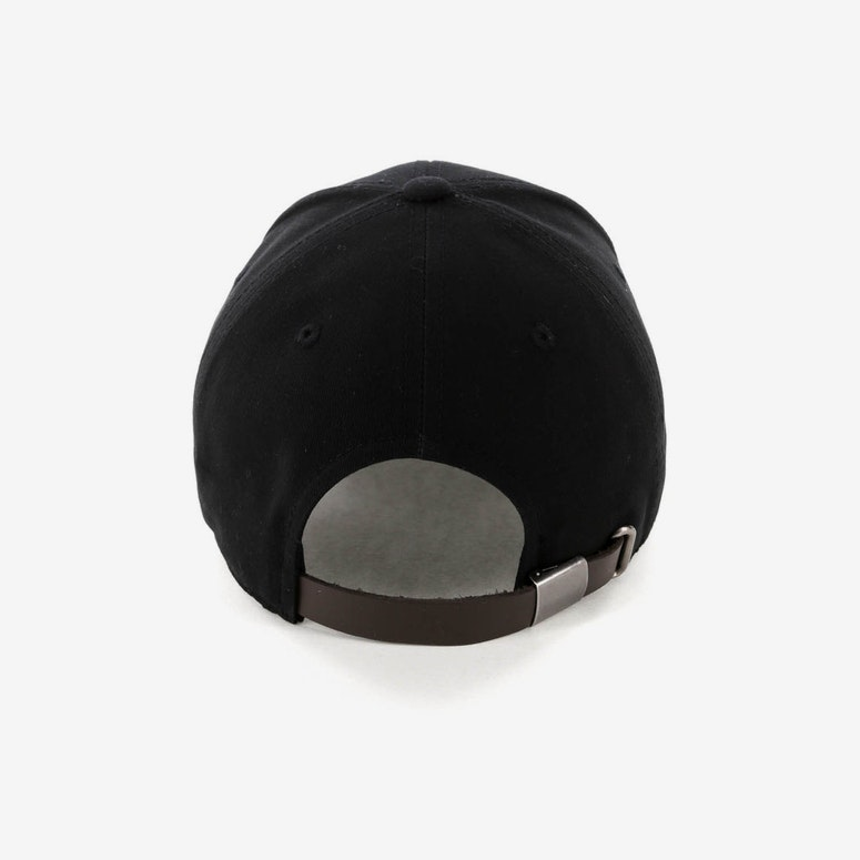 Champion Twill Hat w/ Cpatch Black