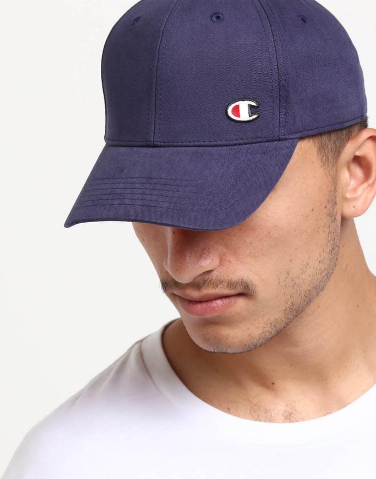 7e3f6b3e98c Champion Twill Hat w  Cpatch Indigo – Culture Kings