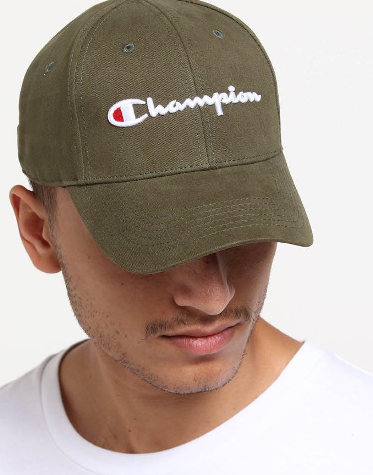 c32952e0e895e Champion Classic Twill Hat Hiker Green – Culture Kings