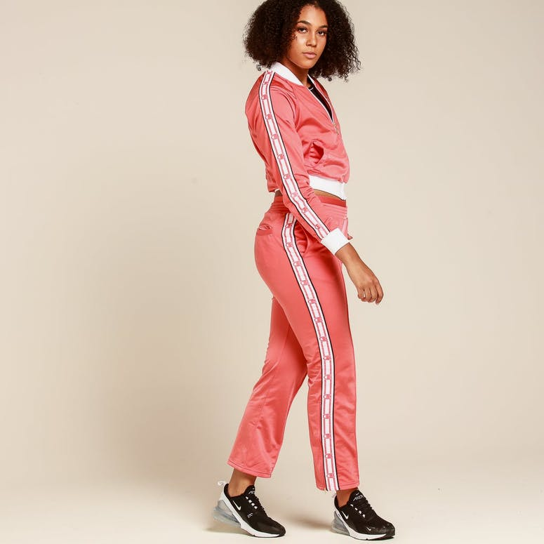 Champion Women's Track Pant Papaya/White/Black