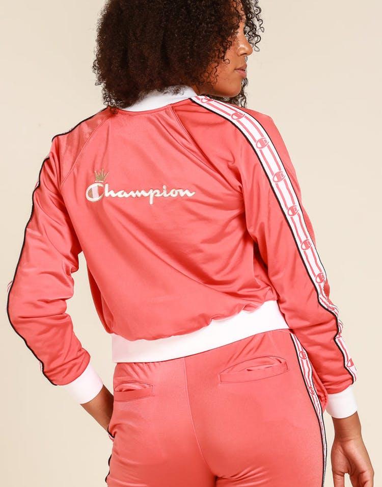85cba76d Champion Women's Track Jacket Papaya/White/Black