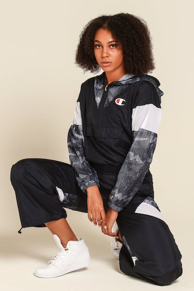Champion Women's Warm Up Jacket Navy/Denim/White