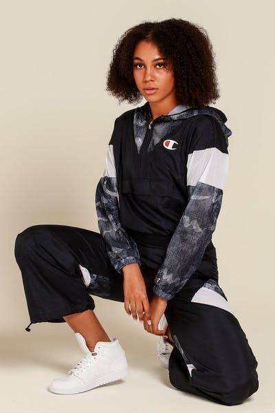 a579d376c8ff Champion Women s Warm Up Jacket Navy Denim White