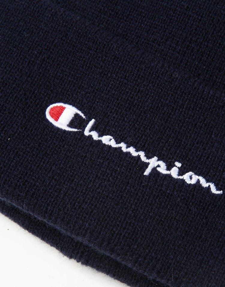 4281a2f2a587d Champion C Life Script Beanie Navy – Culture Kings