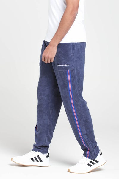 Champion Terry Warm Up Pant Indigo