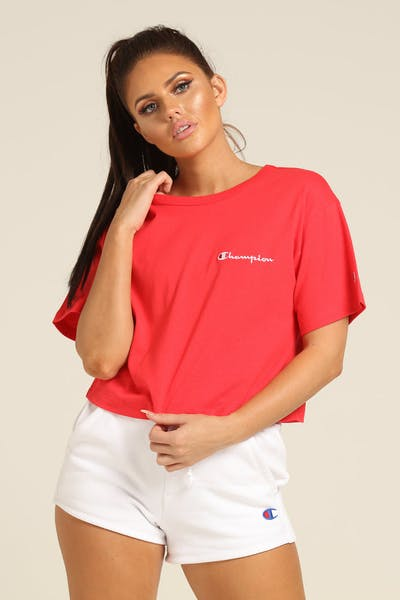 Champion Women's Heritage Tee Mini SC Red
