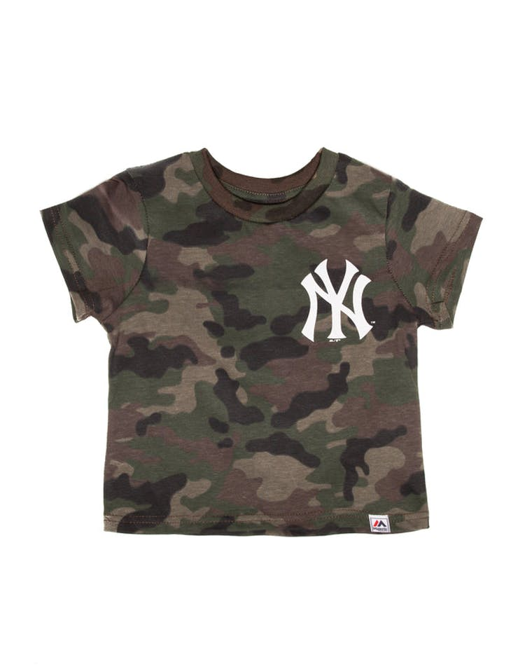 153022bf6 Majestic Athletic Toddler New York Yankees Team Logo Tee Camo White –  Culture Kings