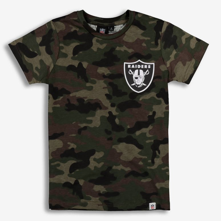 Majestic Athletic Youth Raiders Team Logo Tee Camo White – Culture Kings 34582d128