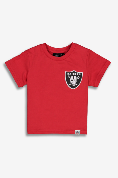 644bda95f Majestic Athletic Toddler Raiders Team Logo Tee Red
