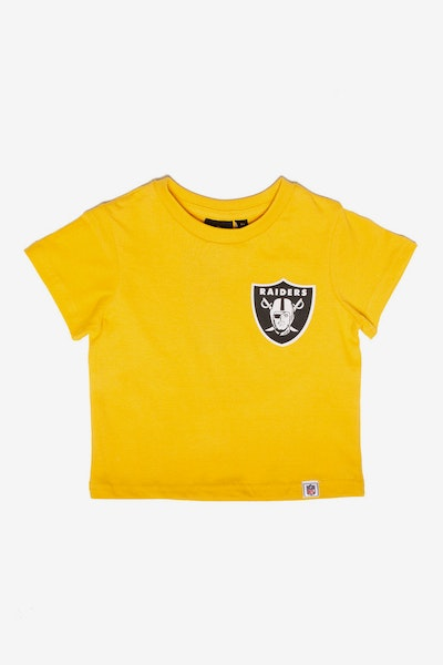 Majestic Athletic Toddler Raiders Team Logo Tee Gold