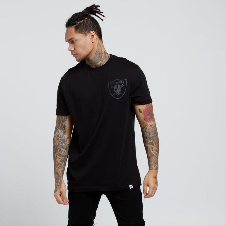 Majestic Athletic Raiders Naite Tee Black/Black