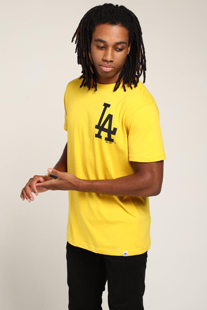Tee Athletic Angeles Majestic Gold Los Jeaner Dodgers shCQdtr