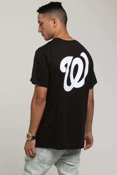 Majestic Athletic Washington Nationals Jeaner Tee Black