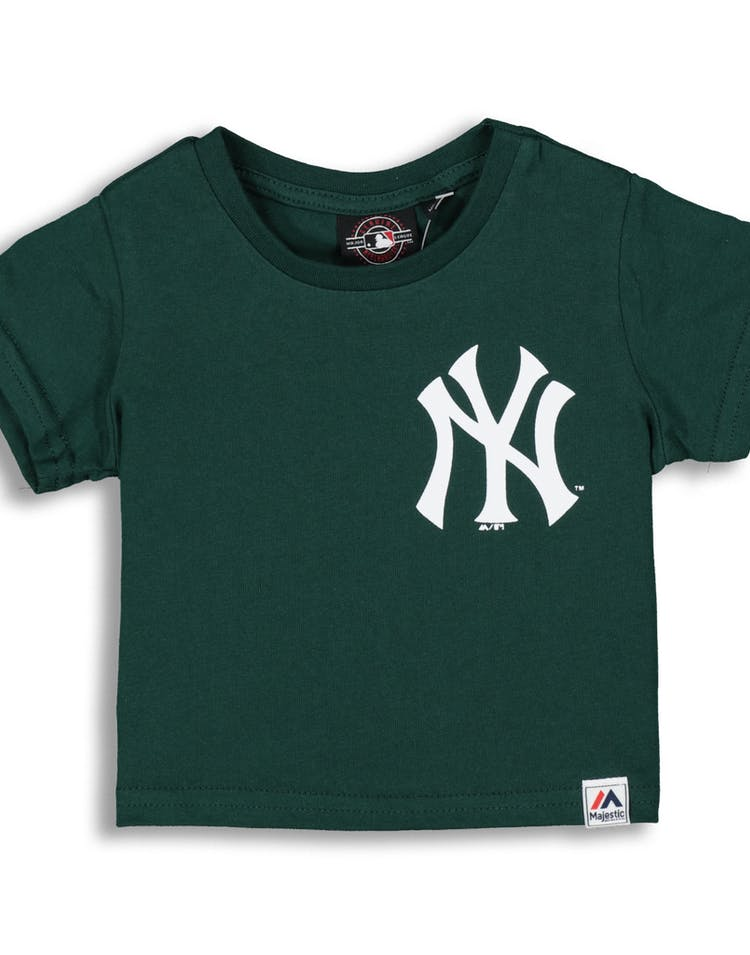 Majestic Athletic Infant New York Yankees Remic Tee Teal