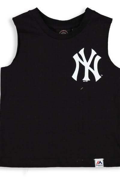Majestic Athletic Infant New York Yankees Remic Muscle Tee Black