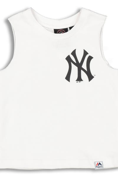 Majestic Athletic Infant New York Yankees Remic Muscle Tee White
