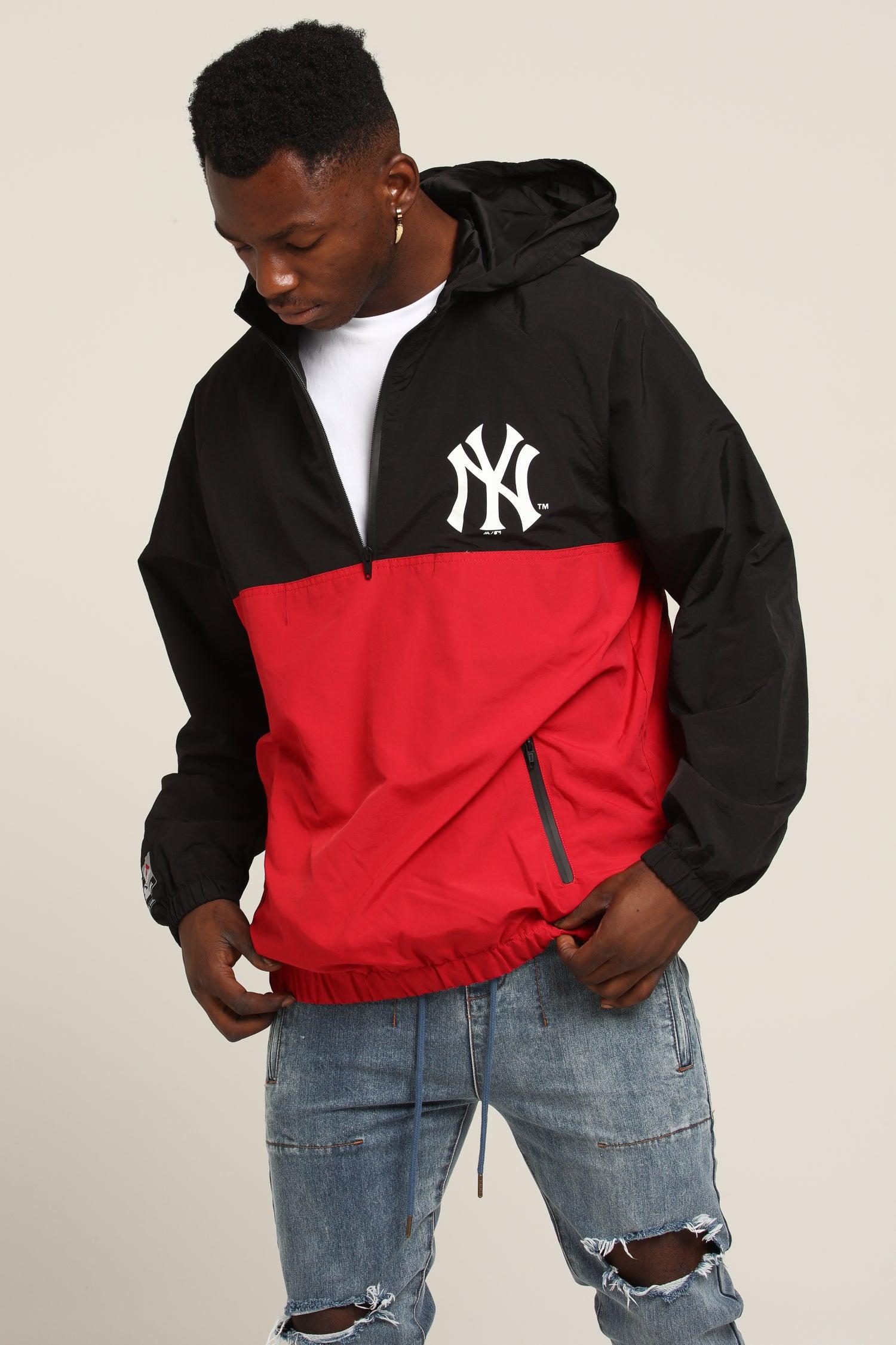 Majestic Athletic New York Yankees Bellemeade Jacket BlackRed