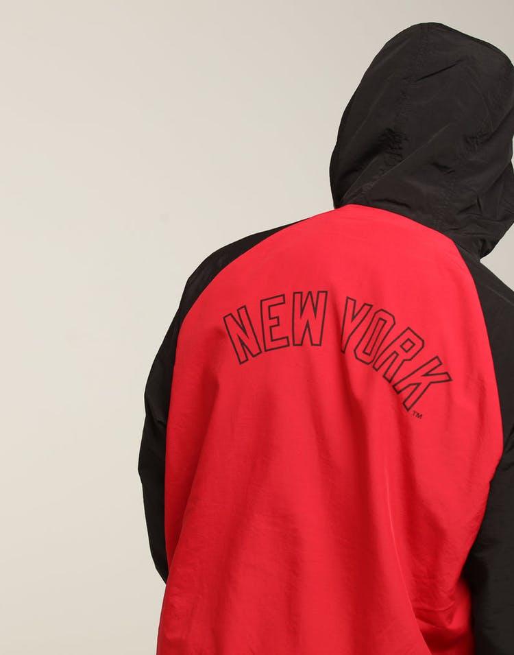 meet 3c0b2 dceca Majestic Athletic New York Yankees Bellemeade Jacket Black Red