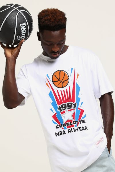 Mitchell   Ness  91 All Star Stub SS Tee White 319be6638716