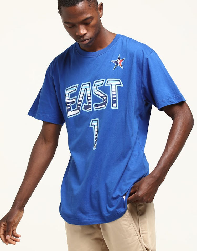 premium selection 67bf2 996ee Mitchell & Ness Allen Iverson #23 '09 East All-Stars Tee Royal