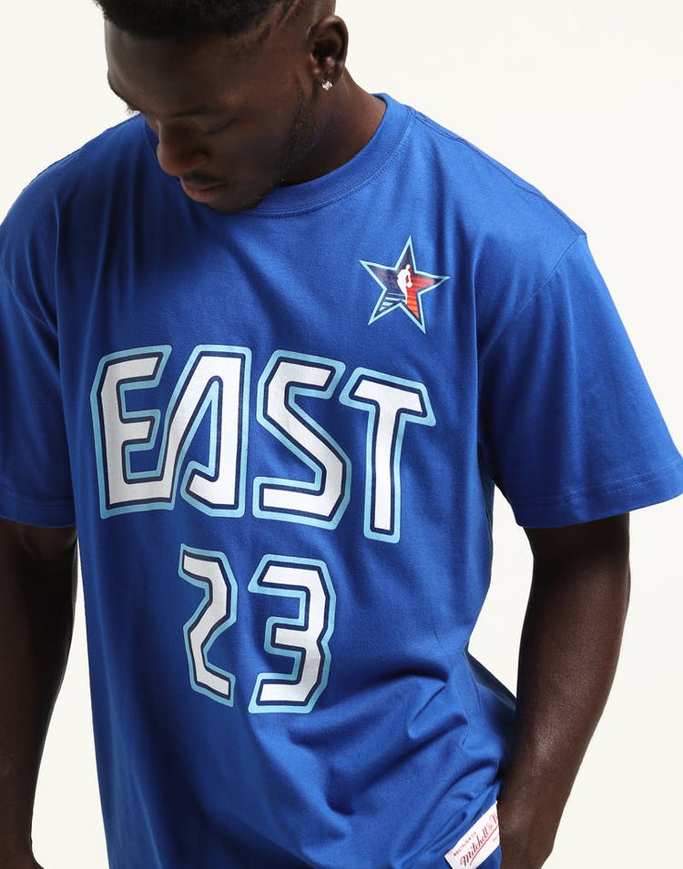 release date: cd350 0ac64 Mitchell & Ness Lebron James #23 '09 East All-Stars Tee Royal