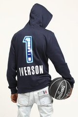MITCHELL & NESS ALLEN IVERSON #23 '09 EAST ALL-STARS HOOD NAVY